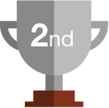 1st Place badge