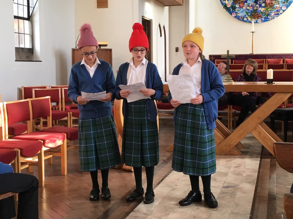 Clayesmore Preparatory School present in assembly