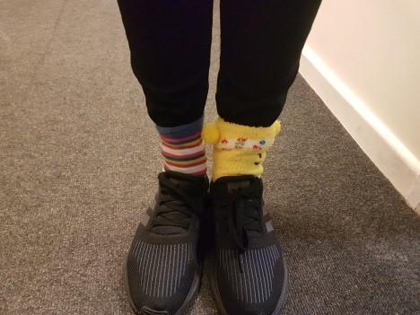 Manor Junior School odd socks