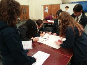 Students at Cardiff Regional Event